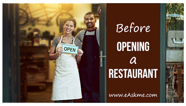 What you need to know before opening your restaurant: eAskme