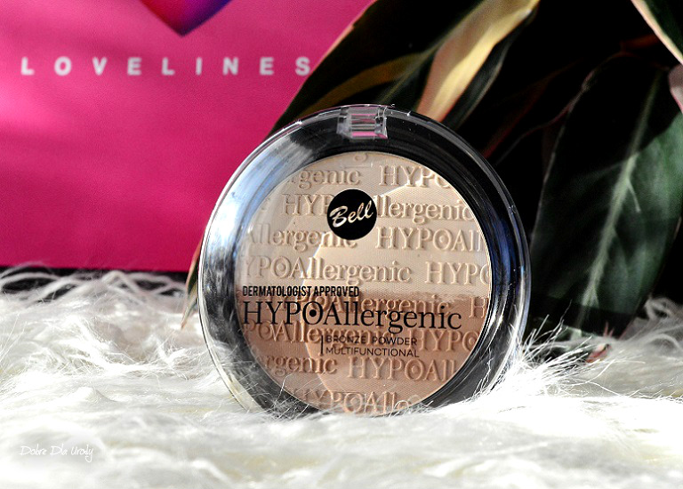 Loveliness by ShinyBox ♥ Lutowe pudełko Shiny Bell HYPOAllergenic Bronze Powder