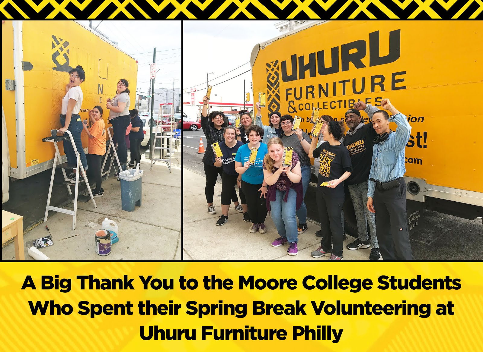 Thank You, Moore College Volunteers!