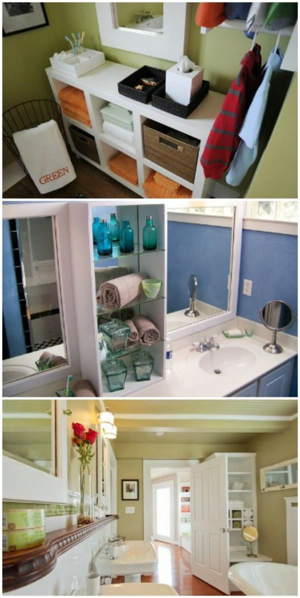 29 brilliant bathroom organization and diy storage for Bathroom storage ideas b q