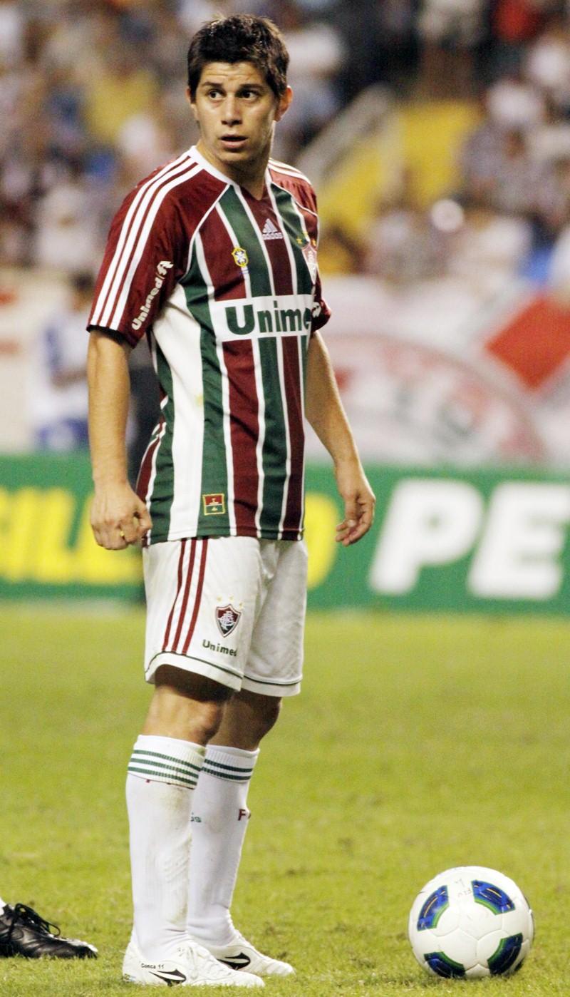 Les£o e falta de dinheiro afastaram Conca do Fluminense Fla Hoje