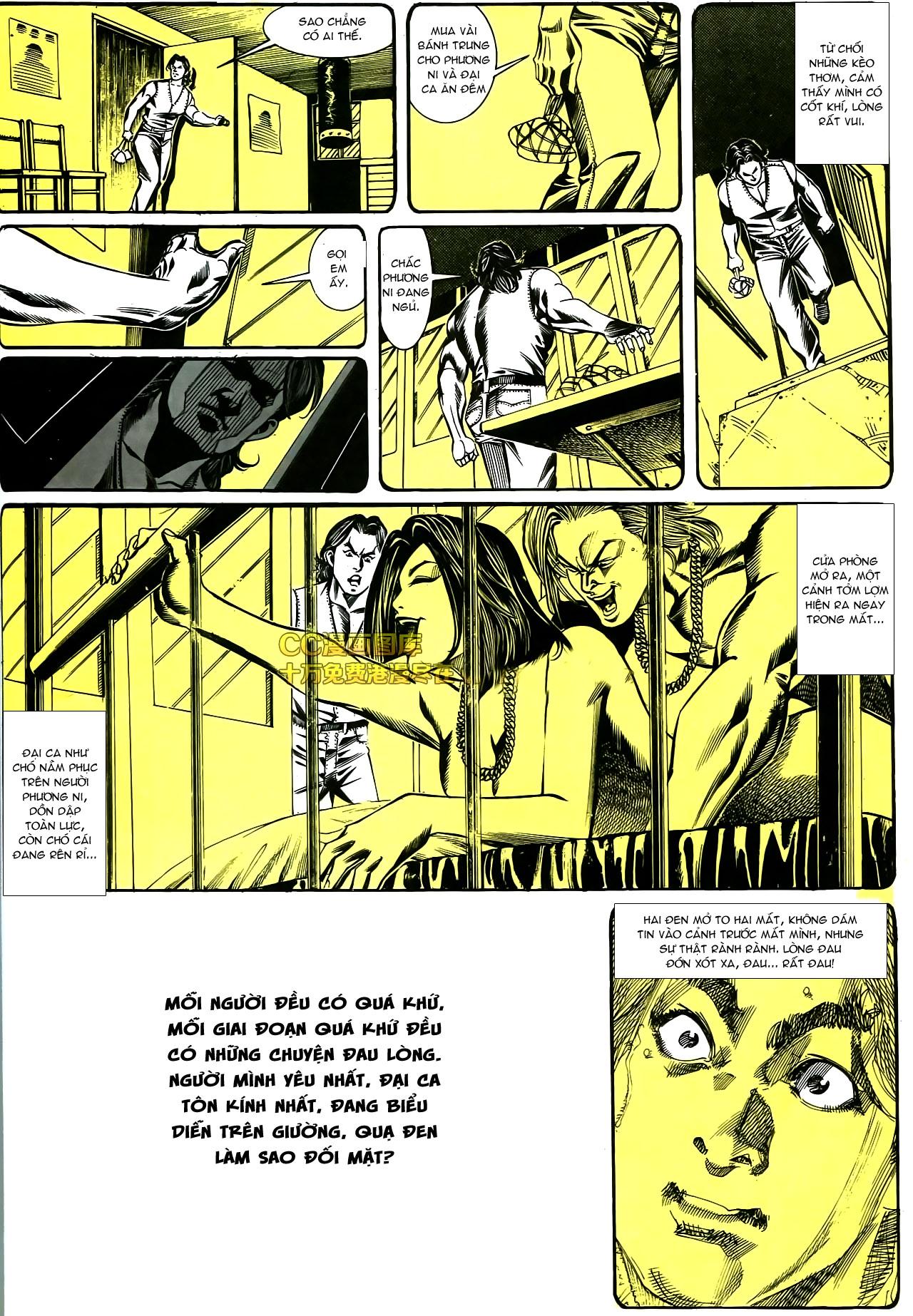 Người Trong Giang Hồ chapter 178: bối cảnh quạ đen trang 31