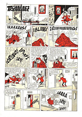 Trompínez, (Mortadelo nº 1, 30-11-1970)