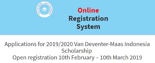 Beasiswa VDMS 2019 untuk SIswa Kelas 12 SMA dan Mahasiswa D3 S1 (Bantuan Dana Pendidikan) , tomatalikuang.com