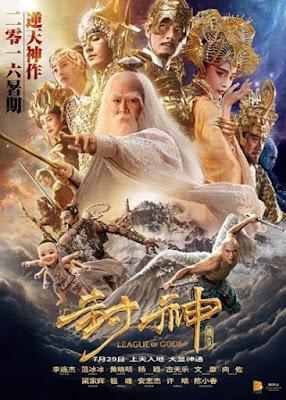 League of Gods [2017] [NTSC/DVDR] Chino, Español Latino