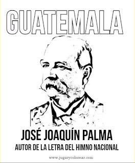 Dibujo para colorear de José Joaquín Palma