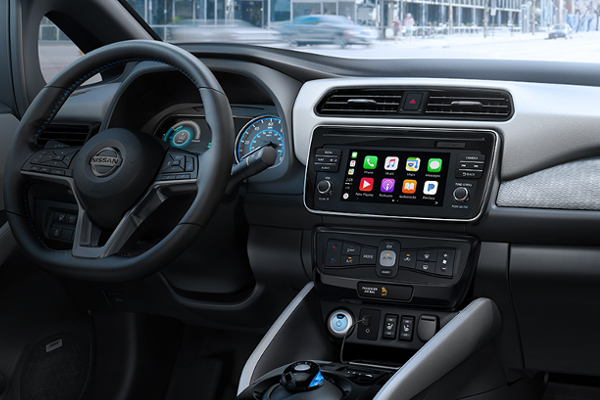 2019 NISSAN Sentra gets Apple CarPlay and Android Auto connectivity