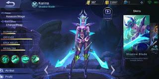 Set Build Item Emblem, Ability, Gear Karina Terbaik