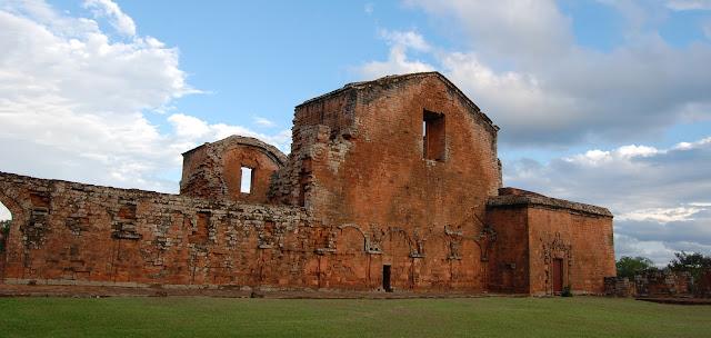 Jesuit Ruins at Trinidad, Paraguay