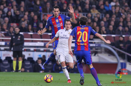 Hasil Pertandingan Barcelona 1- 1 Real Madrid Sabtu 3 Des 2016