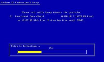 Windows-XP-Installation
