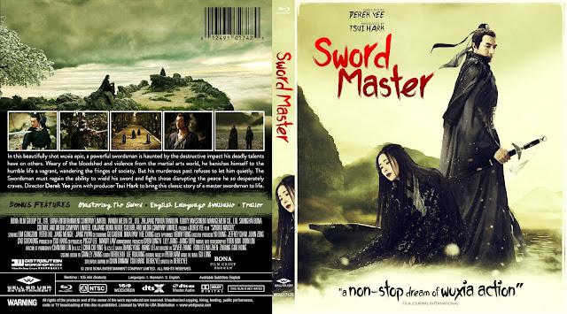 Sword Master (San shao ye de jian) Bluray Cover