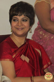 churni ganguly in saree