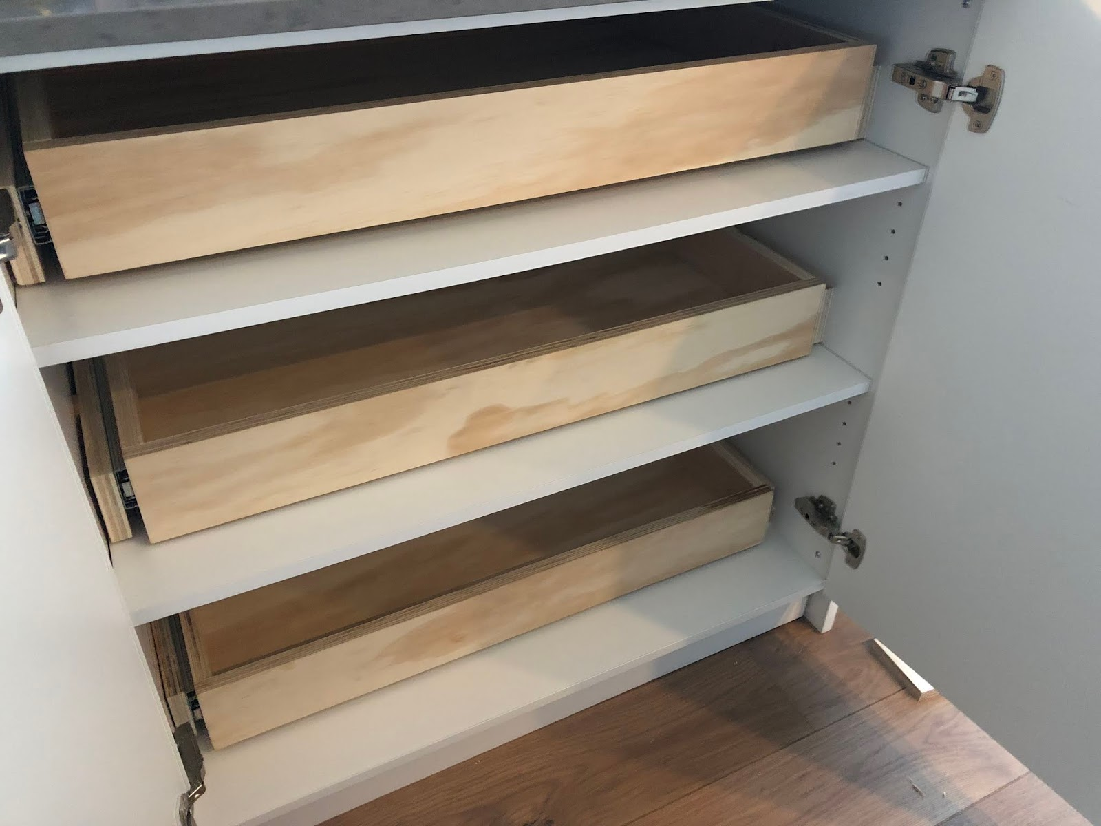 Custom Rollout Drawer DIY