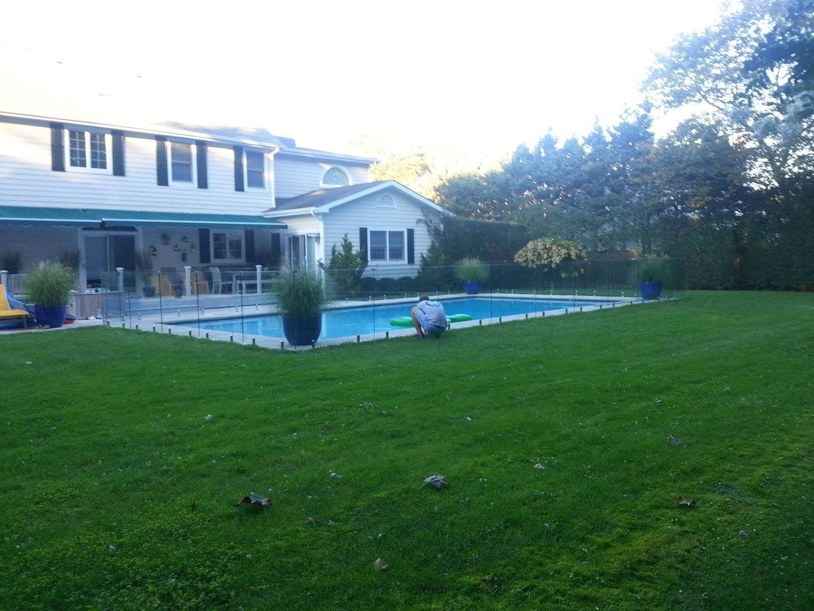 Semi frameless glass pool fence - Tel 718 600 2294 Giovani Glass