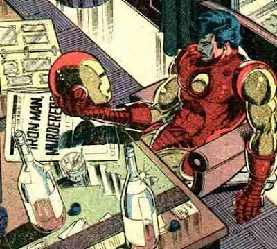 Tony Stark, Ironman, borracho