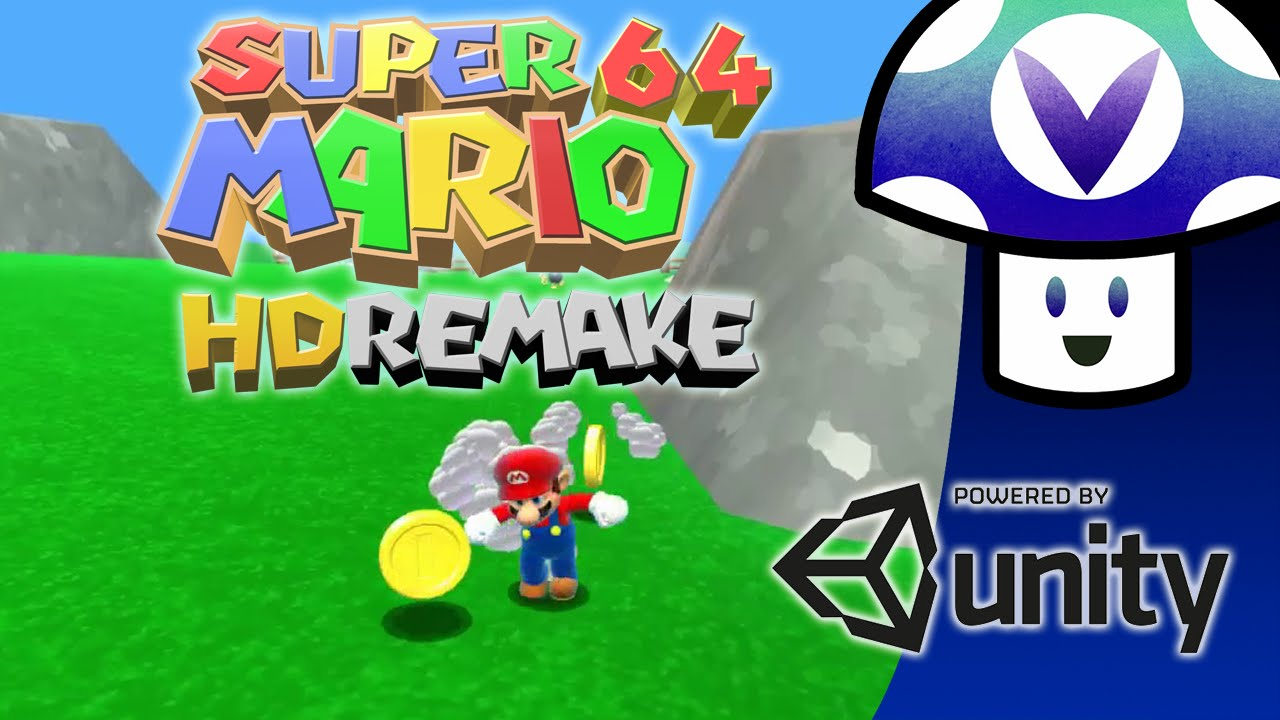 Super Mario 64 HD Remake (Juego) Pc Full