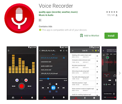 best music recording app android