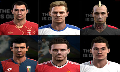 Facepack V.23 Pes 2013 By Pablobyk