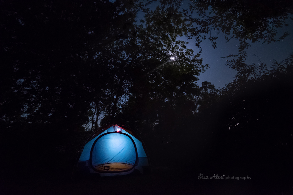 The Night Sky and my Fuji XT2 - the Woodlands family