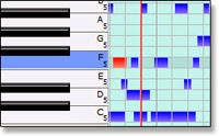 midi software recording, editing and mixing