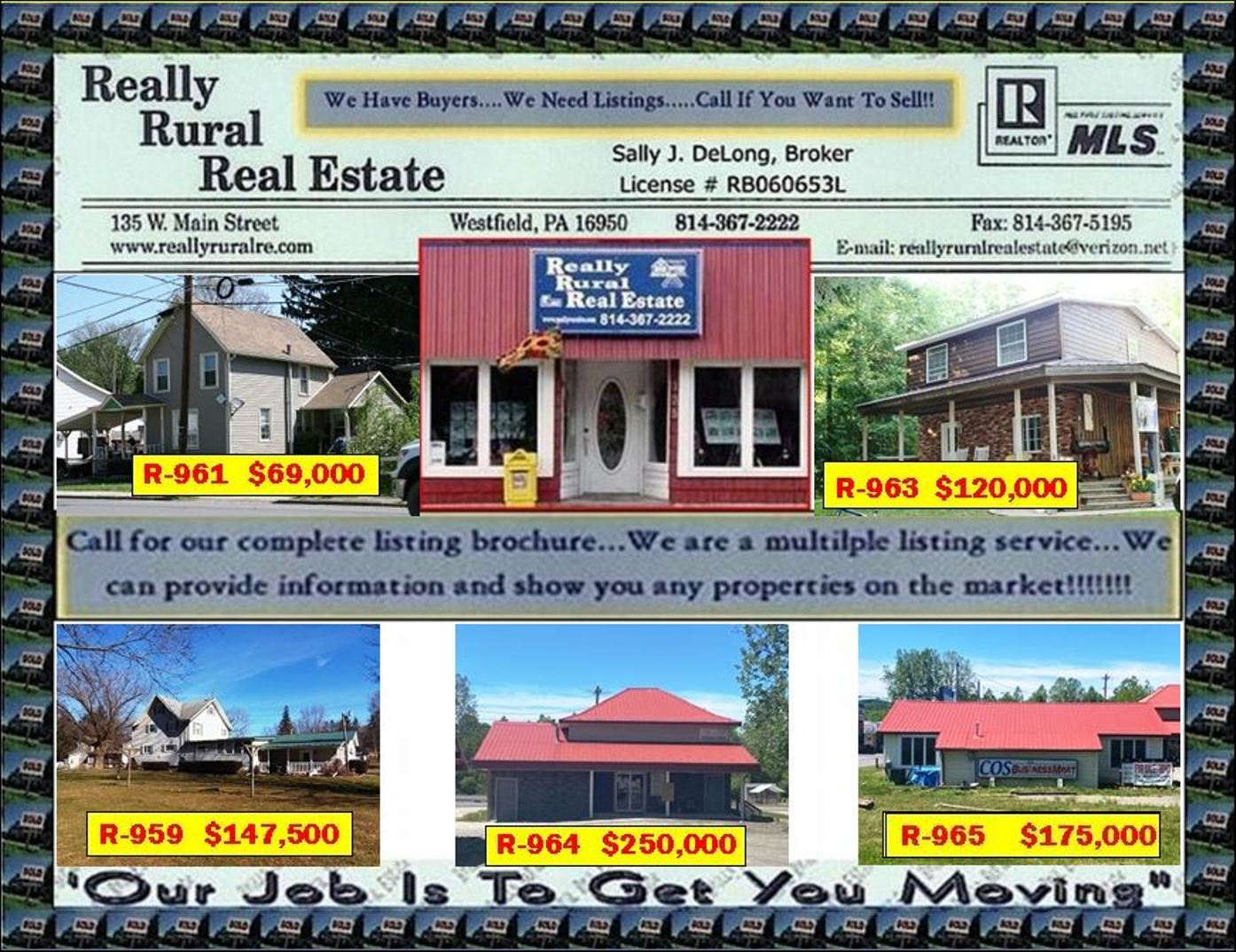 Reallt Rural Real Estate, Ulysses, PA