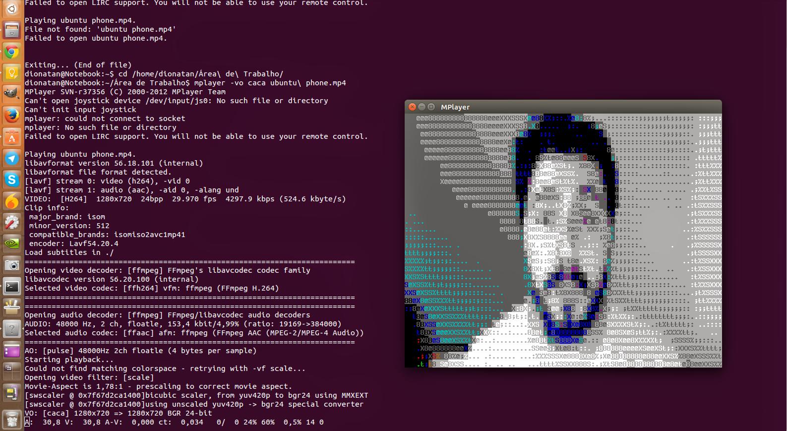 Como ouvir músicas e assistir vídeos pelo terminal - Diolinux - O