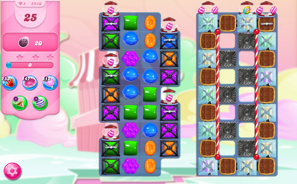Candy Crush Saga level 5940