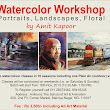 Watercolour Workshop by Amit Kapoor