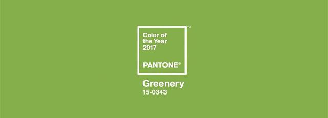 Pantone Greenery Color