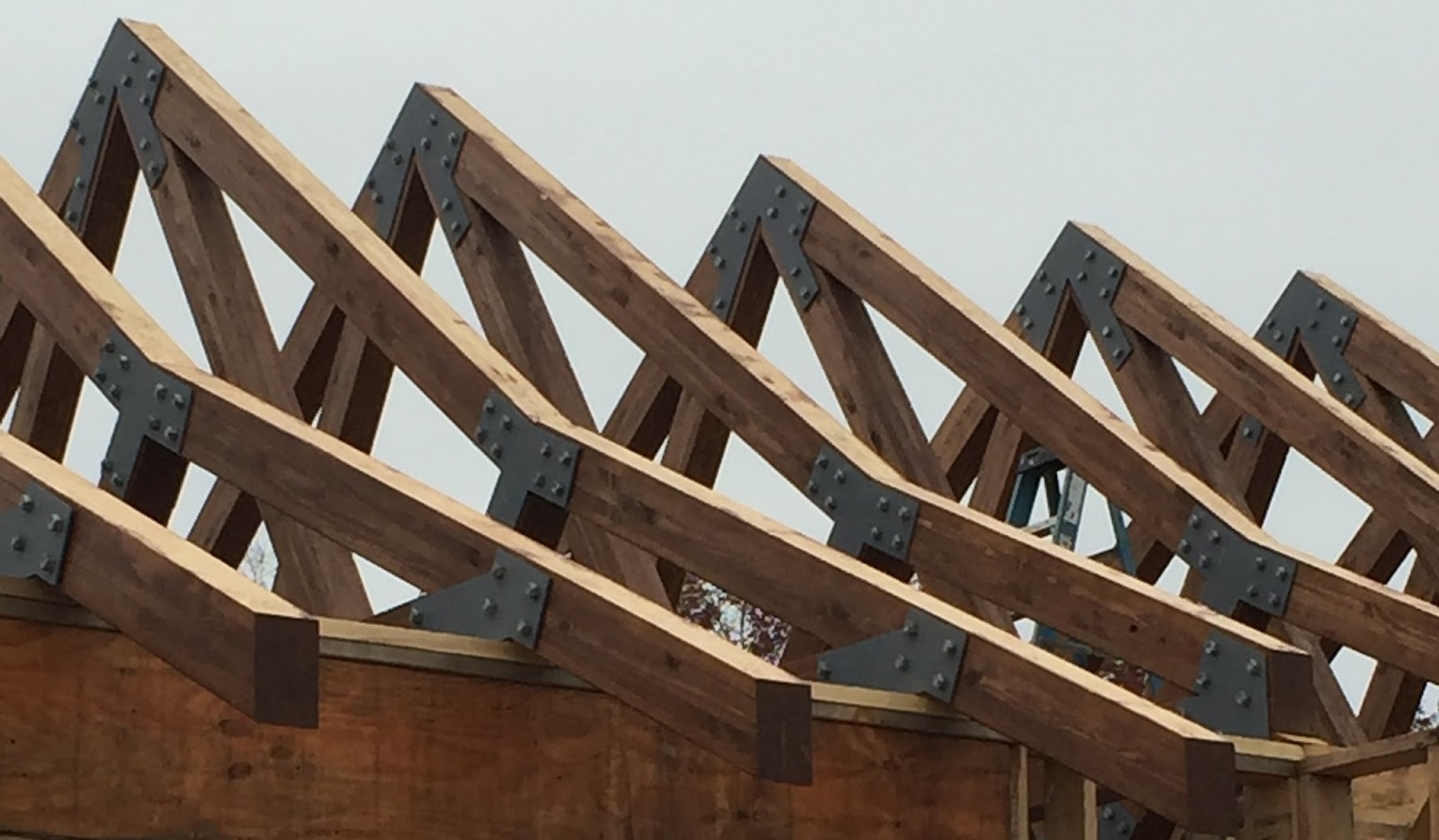 How To Build Gambrel Roof Make Roof Trusses Step 5 Jpg