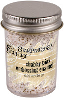 Stampendous Frantage Shabby Embossing Enamel .92oz-Pink