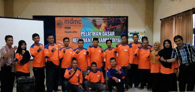 MDMC Muhammadiyah Disaster Management Center kab. Jember