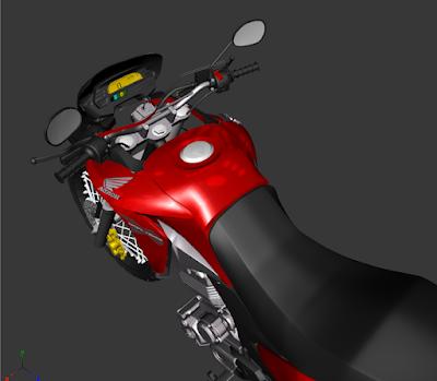 GTA SA - XRE 300 3D