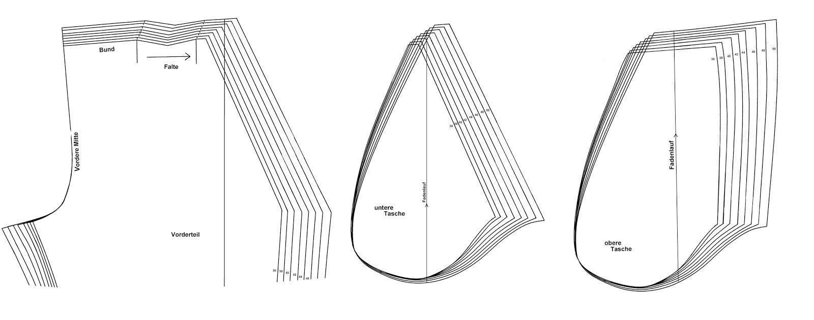 schnipp-schnapp-schnittmuster: Nähen lernen: Flügeltaschen / schräge ...