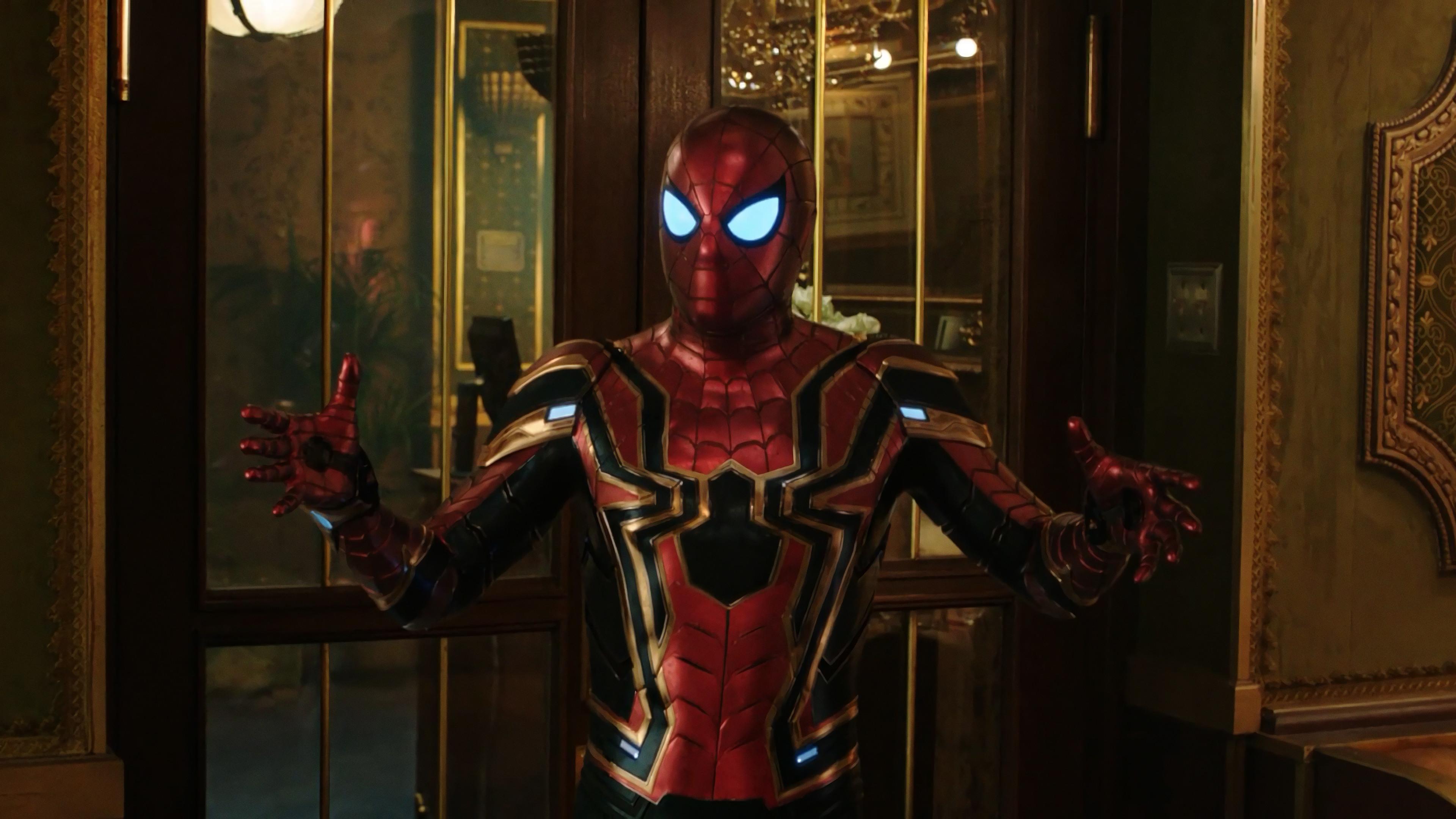 Spider Man Far From Iron Spider 4k Wallpaper 19