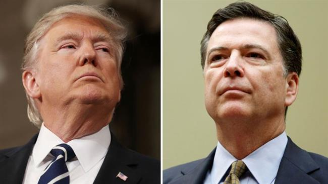 Poll: Americans say James Comey more reliable than US President Donald Trump