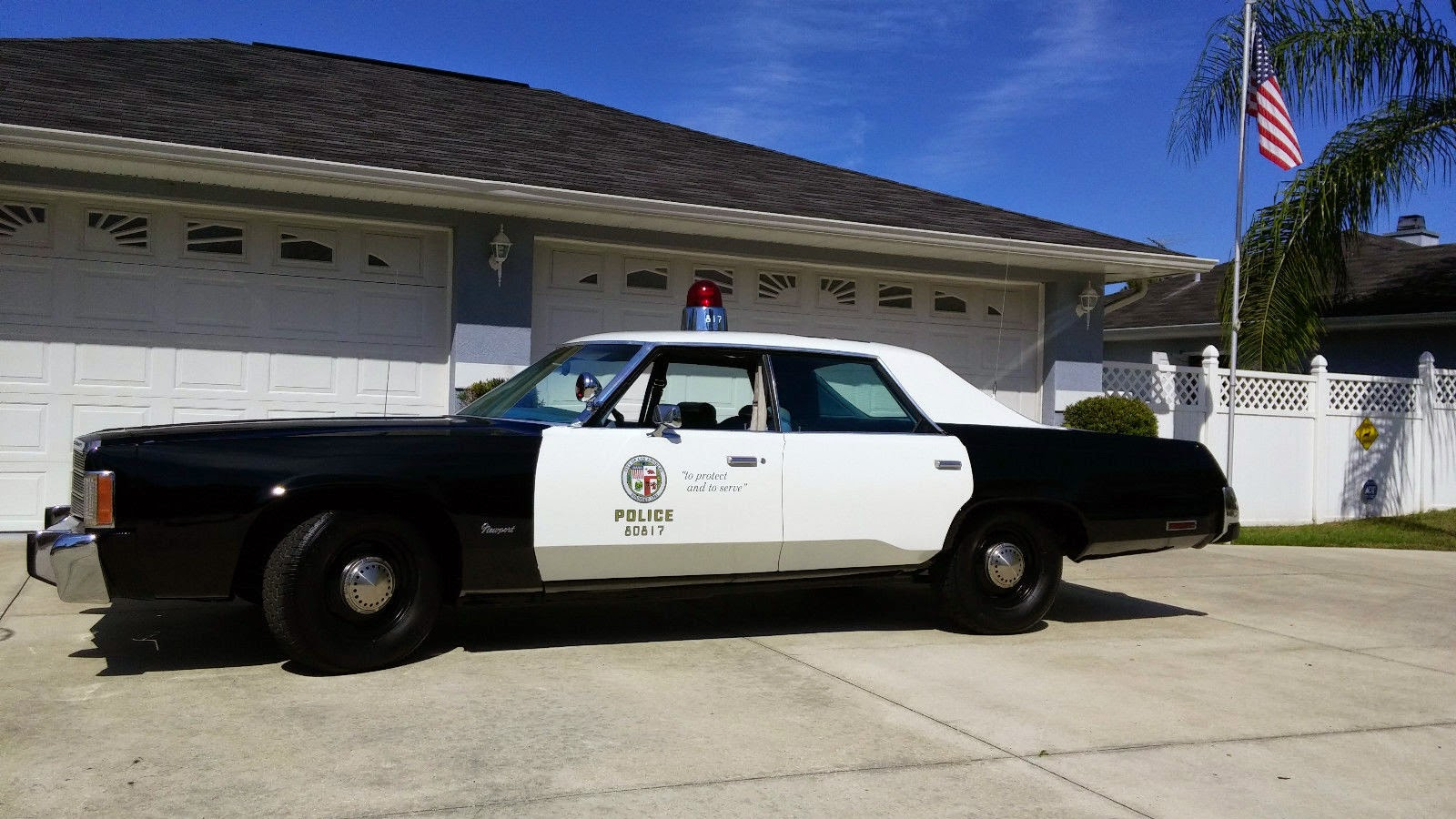 1978 Chrysler Newport 4-Door Hardtop Police Car
