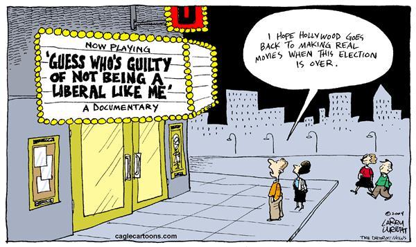 Image result for liberal celebrity cartoons