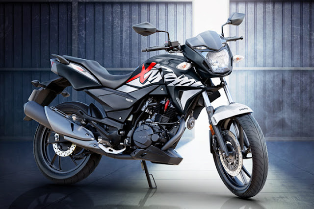 New Hero Xtreme 200R Black color Bike