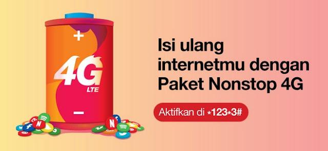 Paket Nonstop 4G Dari Tri Cukup Isi Ulang Rp 80.000 Dapat 35 GB Sebulan