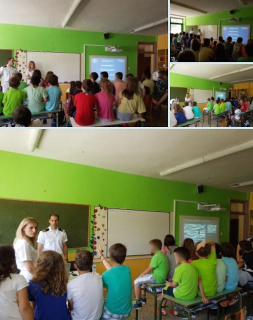 Το Λιμεναρχείο Ηγουμενίτσας ενημερώνει τους μικρούς μαθητές για τους βασικούς κανόνες συμπεριφοράς στη θάλασσα