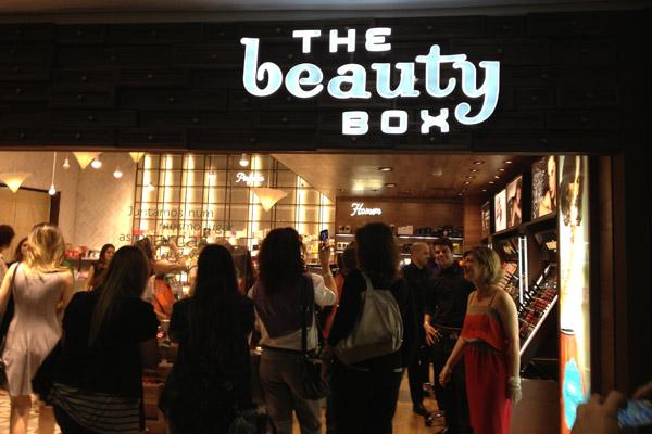 A The Beauty Box é uma loja do grupo O Boticário. Essa loja tem conceito