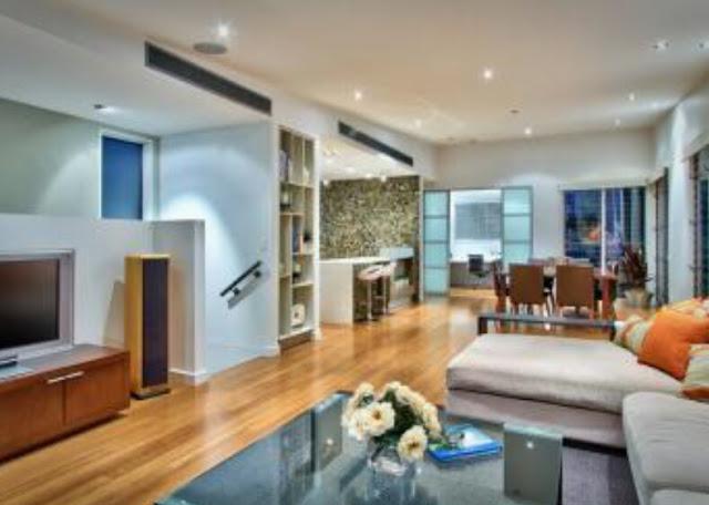 Cara desain interior rumah minimalis type 48 ruang tamu