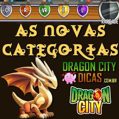 Tudo sobre as Novas Categorias dos Dragões