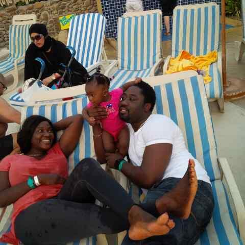 mercy johnson family vacation dubai