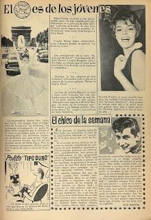 Primera aparición de Polito (Blanca, revista  juvenil femenina nº 0,  13 de Febrero de 1961)