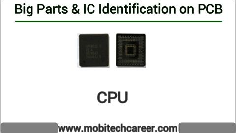 How to identify CPU on pcb of a mobile phone | All IC identification on PCB circuit diagram | Mobile Phone Repairing Course | iphone Repair | cell phone repair Hindi me