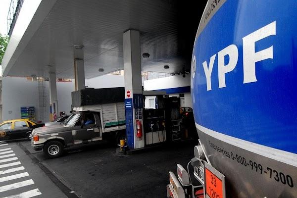 YPF ya no anunciará los aumentos en combustibles