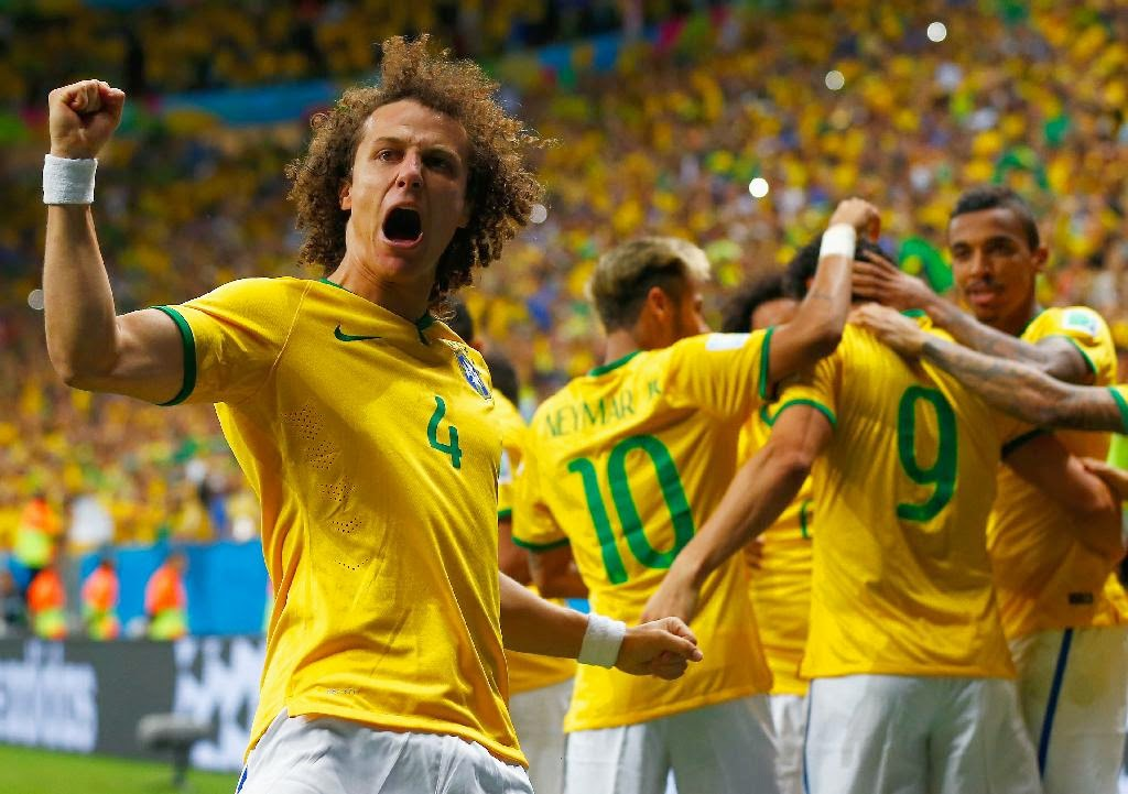 ALL SPORTS PLAYERS: David Luiz Hd Wallpapers 2014